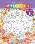 I miei primi mandala - Volume 1: Libro da colorare di mandala per bambini e principianti Cover Image