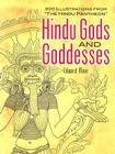 Hindu Gods and Goddesses: 300 Illustrations from