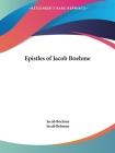Epistles of Jacob Boehme Cover Image
