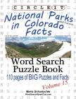 Circle It, National Parks and Forests in Colorado Facts, Word Search, Puzzle Book Cover Image