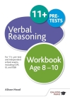 Verbal Reasoning Workbook Age 8-10 Cover Image
