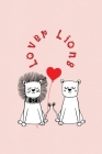 Lover Lions: Valentine's Day Gift - ToDo Notebook in a cute Design - 6