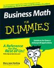 Business Math for Dummies Cover Image