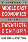 History of Middle East Economies in the Twentieth Century Cover Image