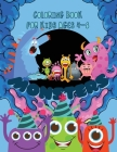 Monsters Coloring Book: Cool, Funny and Quirky Monster Coloring Book For Kids ages 4-8. My First Big Book of Monsters Coloring Book, Great Gif Cover Image