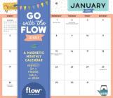 Go with the Flow Desk Calendar 2020: A Magnetic Monthly Calendar Perfect for a Fridge, Wall, or Desk Cover Image