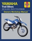 Yamaha Trail Bikes, 1981-2016 Haynes Repair Manual: Does not include 2003 TT-R90E models. Includes thorough vehicle coverage apart from the specific exclusion noted (Haynes Powersport) Cover Image