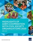 Highlights of ADB's Cooperation with Civil Society Organizations 2020 Cover Image