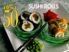 The Best 50 Sushi Rolls Cover Image
