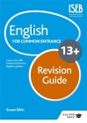 English for Common Entrance at 13+ Revision Guide Cover Image