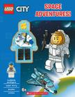 Space Adventures! (LEGO City: Activity Book with Minifigure) Cover Image