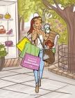 Livro para Colorir de Meninas de Desenhos Animados 1 & 2 Cover Image