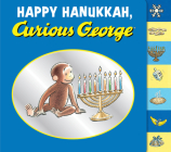 Happy Hanukkah, Curious George tabbed board book Cover Image
