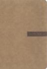 Nbla Santa Biblia, Letra Supergigante, Leathersoft, Beige, Edición Letra Roja Cover Image