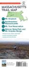 Massachusetts Trail Map: Mt. Greylock, Southwestern Massachusetts, Mt. Tom Reservation, and Skinner State Park and Mt. Holyoke Range Cover Image