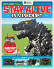 Stay Alive in Minecraft! (GamesMaster Presents) (LEGO) Cover Image