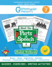 Grammaropolis: The Parts of Speech Workbook, Grade 2 Cover Image
