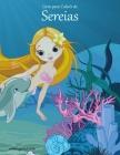 Livro para Colorir de Sereias Cover Image