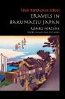 Travels in Bakumatsu Japan Cover Image