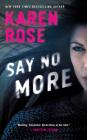 Say No More (Sacramento Series, The #2) Cover Image