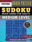 Sudoku Medium: Huge 300 medium SUDOKU books sudoku medium difficulty Maths Book to Challenge Your Brain for Adult and Senior (sudoku Cover Image