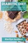 Diabetic Diet: How to Stay Healthy and Live Better with Type 2 Diabetes. Includes 7-Day Meal Plan Cover Image