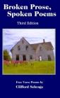 Broken Prose, Spoken Poems 3rd ed Cover Image
