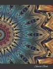 Sketch Book: Kaleidoscope Cover Artist's Sketchbook, 120 Large 8.5