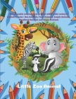 Little Zoo Animal - This adorable coloring book is filled with a wide variety of animals to color: Sea Animals, Farm Animals, Jungle Animals, Woodland Cover Image