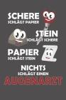 Schere Schlägt Papier - Stein schlägt Schere - Papier schlägt Stein - Nichts schlägt einen Augenarzt: Praktischer Wochenkalender für ein ganzes Jahr - Cover Image