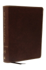 KJV, Journal the Word Bible, Bonded Leather, Brown, Red Letter Edition, Comfort Print: Reflect, Journal, or Create Art Next to Your Favorite Verses Cover Image