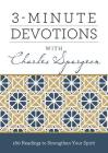3-Minute Devotions with Charles Spurgeon: 180 Readings to Strengthen Your Spirit Cover Image