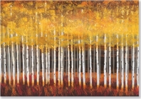 Golden Aspens Note Cards Cover Image