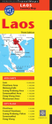 Laos Travel Map Third Edition Cover Image