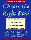 Choose the Right Word: Second Edition Cover Image