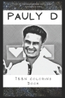 Teen Coloring Book: An Anti Anxiety Adult Coloring Book That's Inspired By Pop Culture Singer, Band or Acclaimed Actor. Cover Image