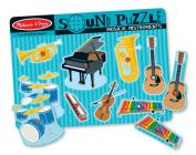Musical Instruments Sound Puzzle: Puzzles (Wooden) - Sound Puzzles [With Battery] Cover Image