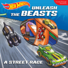 Hot Wheels Unleash the Beasts: A Street Race: A Look-Through Storybook Cover Image