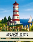 Chilled Beach Life Coloring Book Cover Image