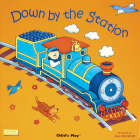 Down by the Station (Classic Books with Holes 8x8) Cover Image
