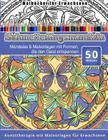 Malbucher fur Erwachsene Schmetterlingsmandala: Mandalas & Malvorlagen mit Formen, die den Geist entspannen Kunsttherapie mit Malvorlagen fur Erwachse Cover Image