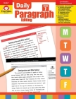 Daily Paragraph Editing Grade 7 Cover Image