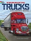 Terrific Trucks Coloring Book Cover Image
