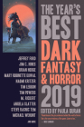 The Year's Best Dark Fantasy & Horror 2019 Edition Cover Image