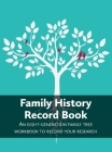 Family History Record Book Cover Image