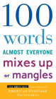 100 Words Almost Everyone Mixes Up or Mangles Cover Image