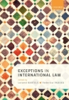 Exceptions in International Law Cover Image