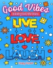 Good Vibes Coloring Book Cover Image
