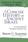 A Concise History of Ancient Israel: From the Beginnings Through the Hellenistic Era (Critical Studies in the Hebrew Bible #11) Cover Image