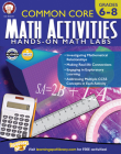 Common Core Math Activities, Grades 6 - 8 Cover Image